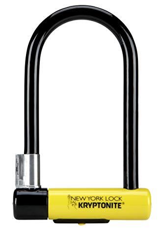Kryptonite New York Lock Standard (10x20cm) Fahrradschloss, Yellow, 10 x 20 cm*