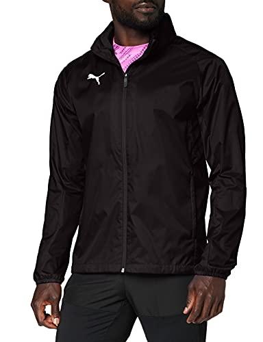 PUMA Herren Training Rain Jacket, Puma Black-puma white, L