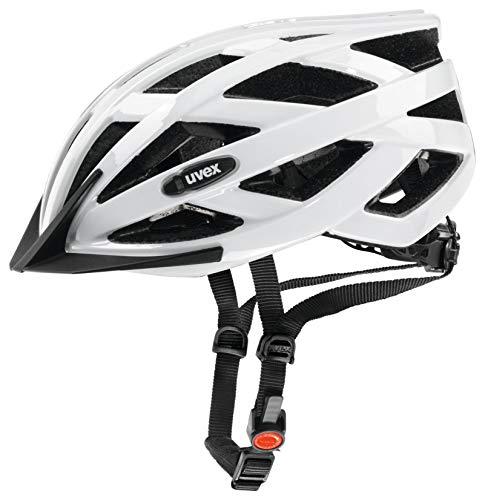 Uvex Unisex– Erwachsene, i-vo Fahrradhelm, white, 52-57 cm