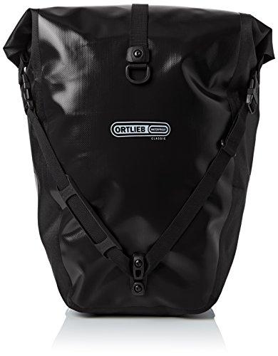 Ortlieb Erwachsene Gepäckträgertasche Back-Roller Classic Ql2.1 Paar Radtaschen Travel, Schwarz, One Size