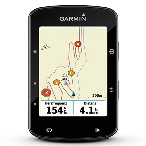 "Garmin Edge 520 Plus GPS-Fahrradcomputer - Leistungswerte, Navigationsfunktionen, Europakarte, 2,3"" Display"