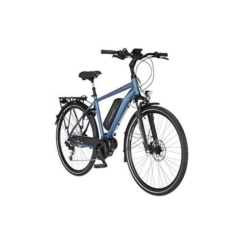 FISCHER Herren - Trekking E-Bike ETH 1820.1, Elektrofahrrad, saphirblau matt, 28 Zoll, RH 50 cm, Mittelmotor 50 Nm, 48 V Akku