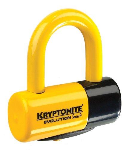 Kryptonite Uni Evolution Disc Yellow Locks, One Size