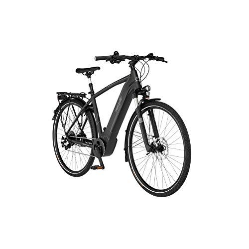 FISCHER Herren - Trekking E-Bike VIATOR 6.0i, Elektrofahrrad, Graphit metallic matt, 28 Zoll, RH 55 cm, Brose Drive S Mittelmotor 90 Nm, 36 V Akku im Rahmen