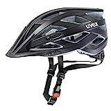 Uvex Unisex– Erwachsene I-VO CC Fahrradhelm, Black mat, 56-60 cm