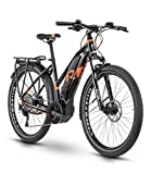 RAYMON Tourray E 6.0 Damen Pedelec E-Bike Trekking Fahrrad schwarz/rot 2020: Größe: 48 cm