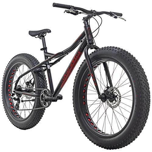 KS Cycling Mountainbike MTB 26'' Fatbike SNW2458 Aluminiumrahmen schwarz RH46cm