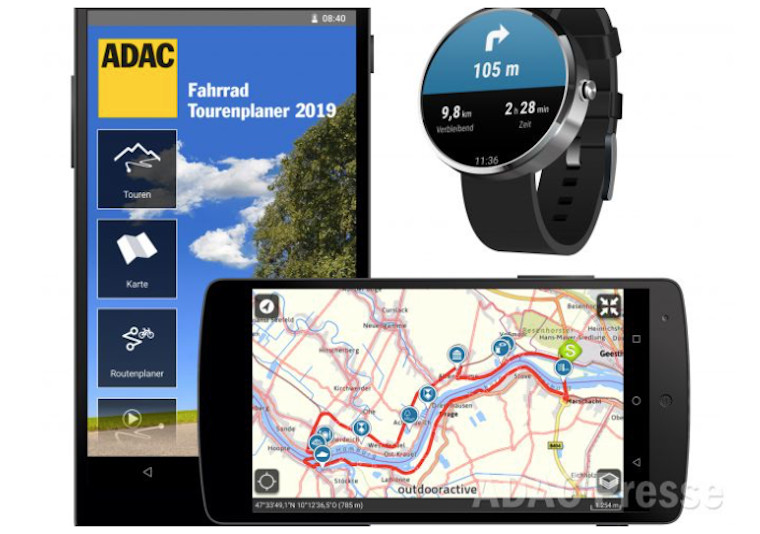 ADACFahrrad Navi App