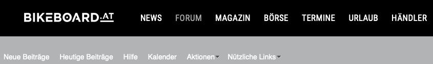 Österreichs größtes E Bike Forum