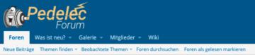 pedelec forum