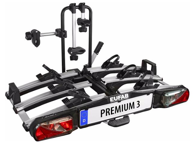 Eufab Premium 3 Fahrradheckträger für E Bike