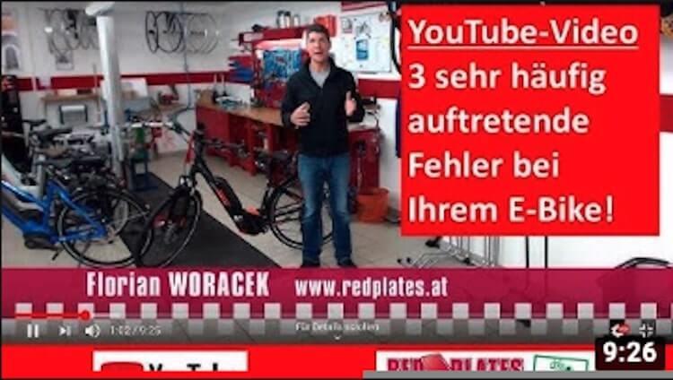 Youtube Video über E-Bike Motor unterstützt nicht mehr