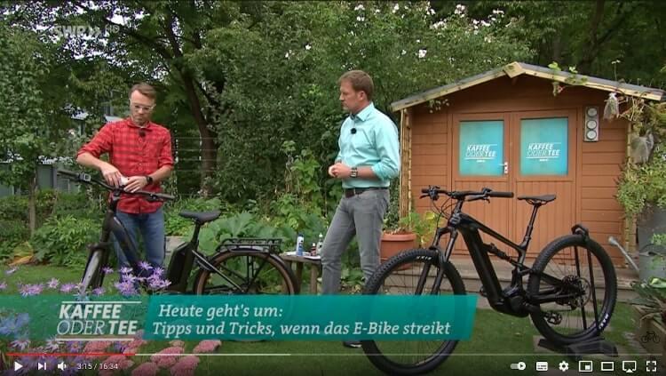 SWR Video über Probleme mit E-Bikes